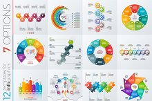 12 infographic templates 7 options