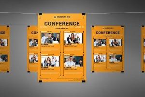 Conference Flyer Template v6
