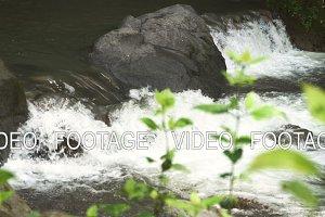 Mountain stream river.