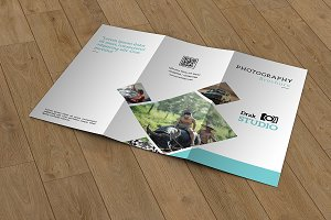 Trifold Photography Brochure -V657