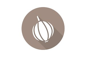 Garlic icon. Vector