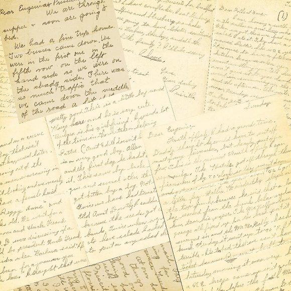 Vintage letters and envelopes textures creative market altavistaventures Choice Image