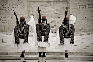 Greek National Guard of Honor, Athens Parliament