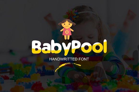 BabyPool New Font New Typeface