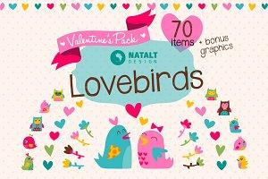 Lovebirds Valentine's Pack