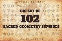 102 Sacred geometry signs