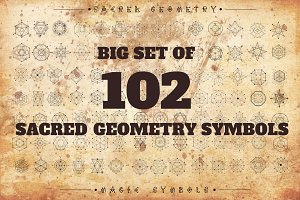 102 Sacred geometry signs
