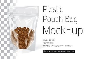 Vector Plastic Pouch Bag