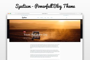 Spatium - Fast Theme for Bloggers