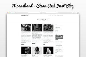 Moonshard - WP Blog Theme