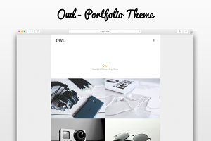 Owl - Minimal Portfolio Theme