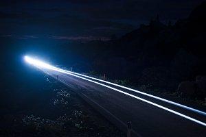 lights against the dark