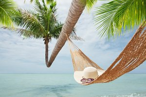 hat and hammock