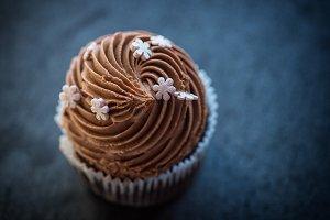 Cupcake desert cream