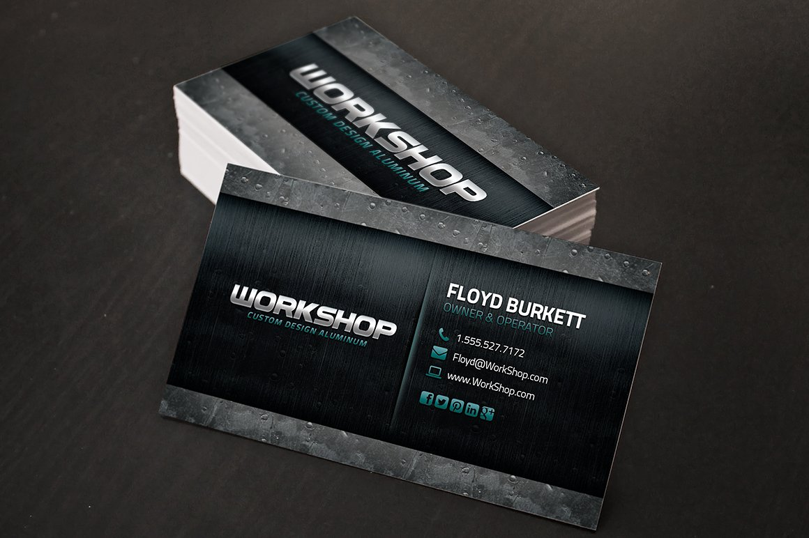 Automotive Business Card Insssrenterprisesco - Mechanic business cards templates free