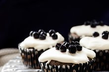maffins with berries