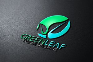 Green Leaf Logo