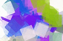 Paint Squares Abstract