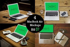 Mockup Bundle Macbook Air 40% Off