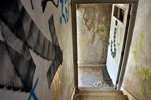 Staircase Arrow Exit