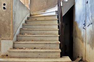 Staircase Dirty Floor