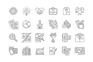 34 Business Icons