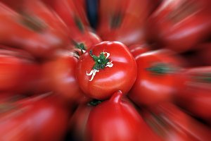 Tomatoes Blur Background