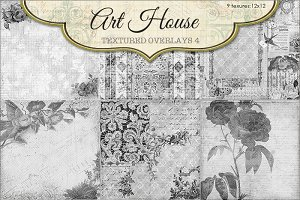 Art House Textured Overlays #4