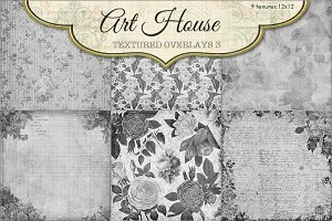 Art House Textured Overlays #3