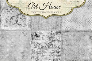 Art House Textured Overlays #2