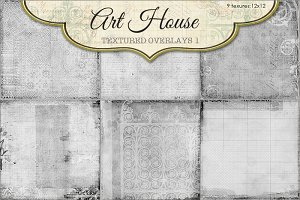 Art House Textured Overlays #1