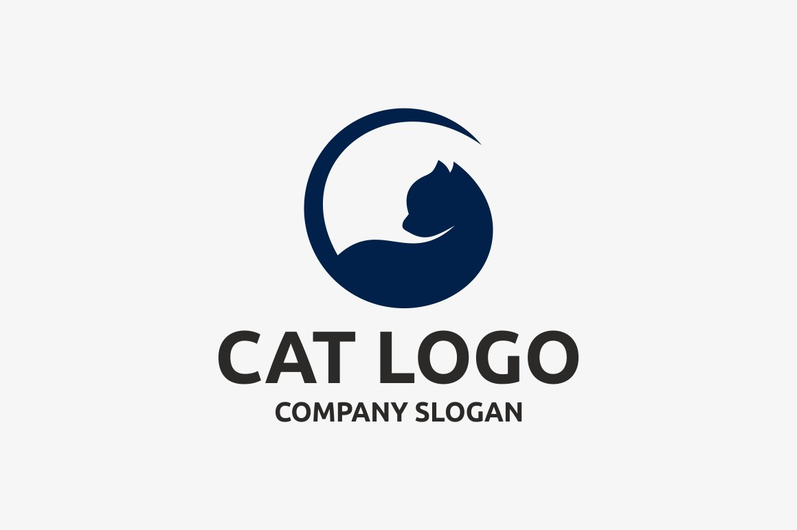 Cat Logo ~ Logo Templates ~ Creative Market