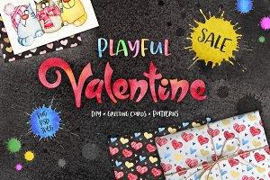 Valentine's Day Graphics Set