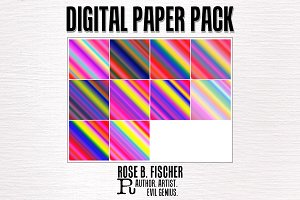 Digital Paper Pack (Gradients)