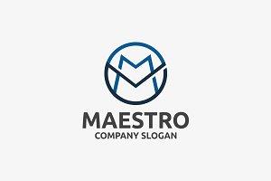 Maestro _ M Letter Logo