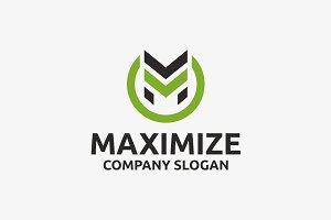 Maximize M Logo