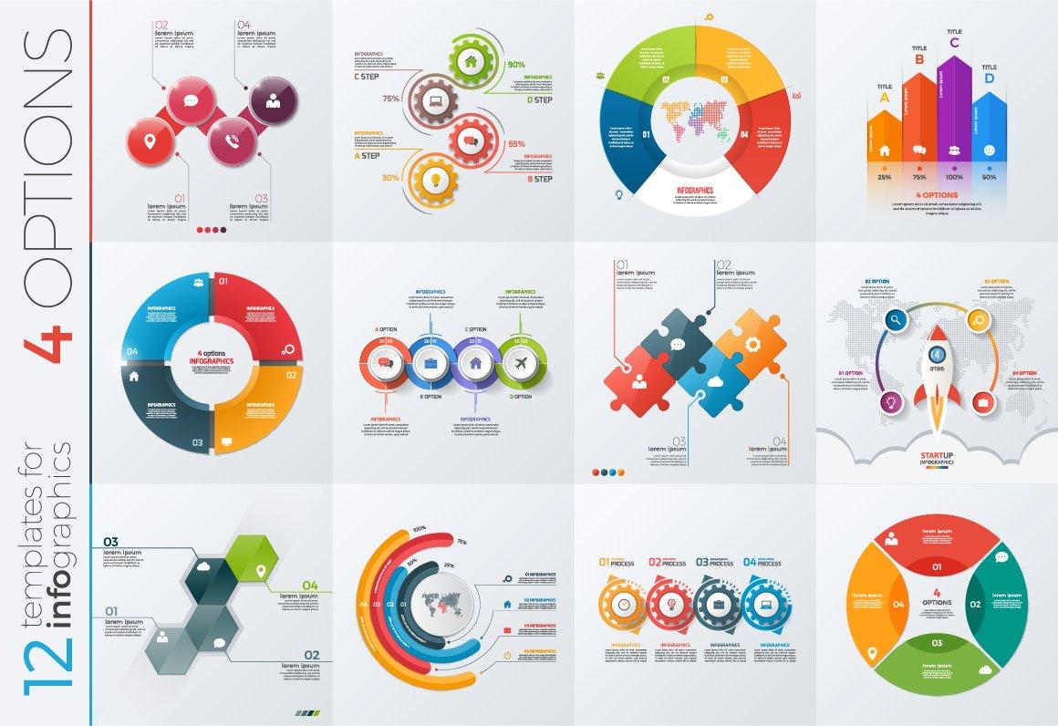 Infographic microsoft template