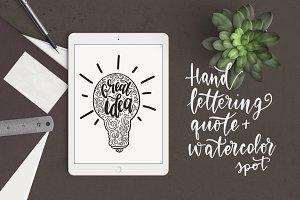 Lettering Great Idea