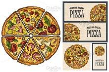 slice pizza Pepperoni Hawaiian ...