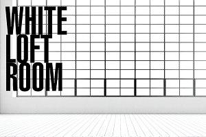 WHITE LOFT ROOM