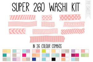 Super Washi Kit (260)