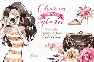 Charm & Glam. Fashion collection