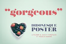 Didonesque Poster - 2 Font Pack