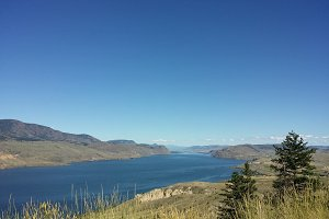 Kamloops Lake in south central BC