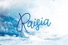 Raisia Script Font