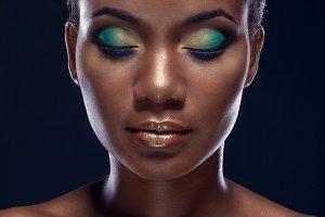 Beauty portrait of African woman
