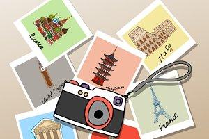 photographs of global landmarks