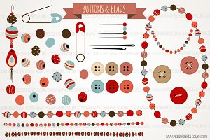 Buttons & Beads