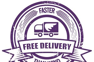 Faster Than The Wind delivery stamp