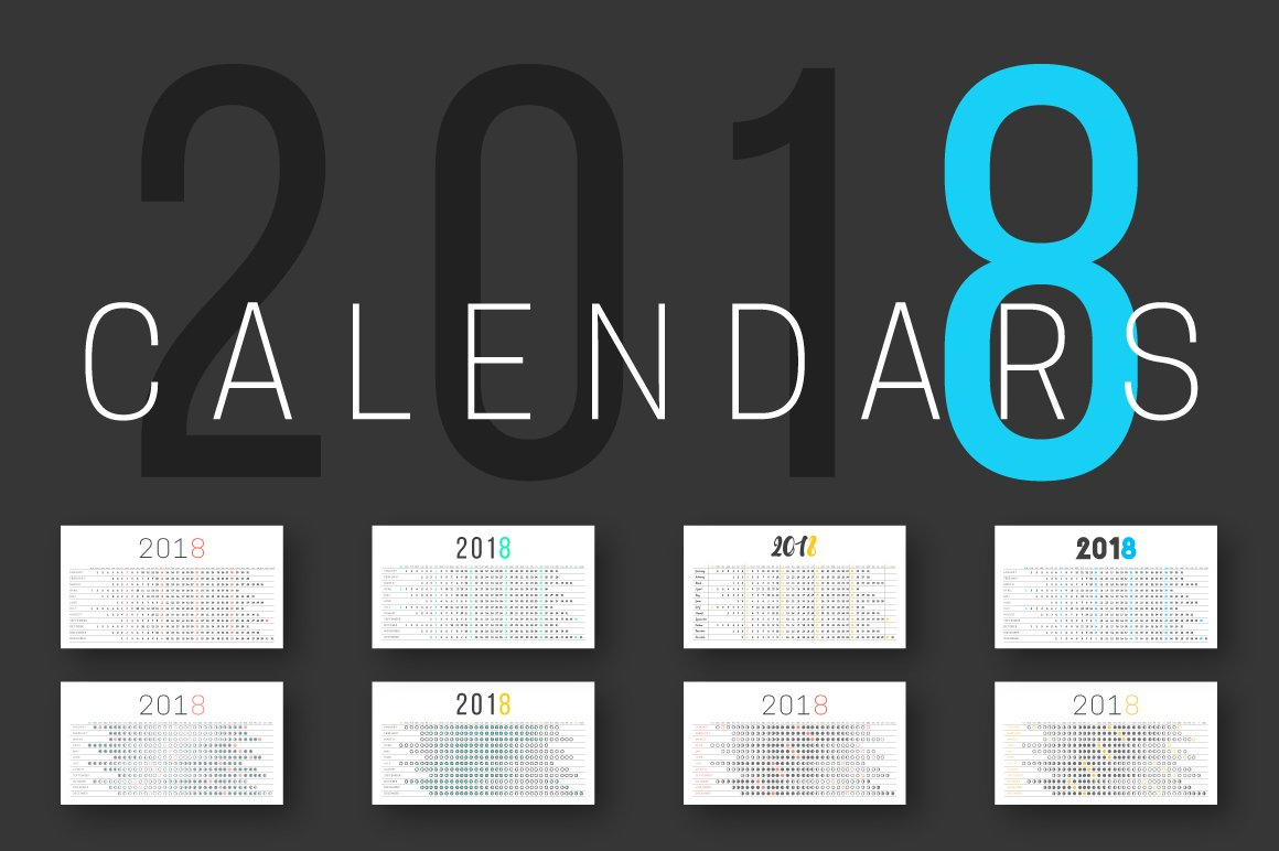Calendar Logo : Calendar and moon stationery templates